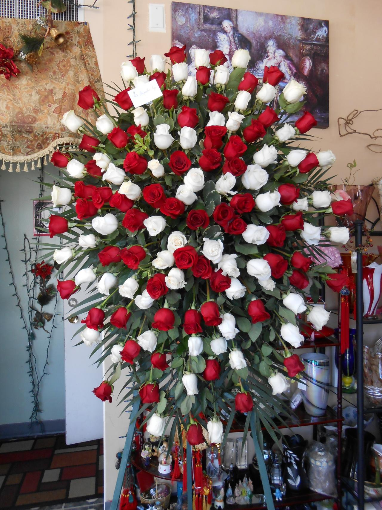 Van florist funeral theres plenty more at our store please come by our shop to see an abundance of funeral arrangements izmirmasajfo